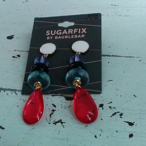 Cute multi colored earrings